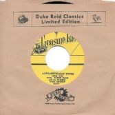 Alton Ellis & The Flames with Baba Brooks Band - Alphabetically Yours / Baba Brooks Band - Alcatraz (Treasure Isle / Corner Stone) JPN 7""